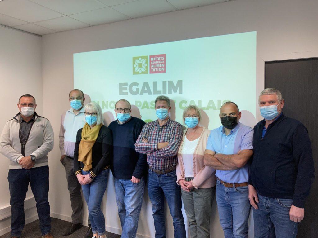 Toute l'équipe de Velders s'engage localement en Nord-Pas-de-Calais dans un EGALIM serein